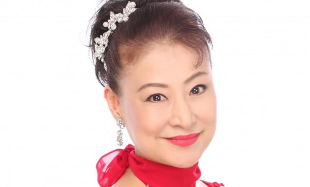 浦川 ともみ 赤ドレス